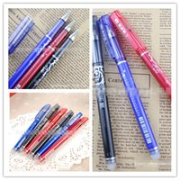 Wholesale Neutral Pen Neutral Pen Fashion Student Erasable and More Color Pen Hot Student Plastic and Waterproof Pen