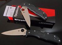 Wholesale New Arrival Spyderco C10GP Folding Knife S30V blade G10 Handles pocket kinife gift kinife strider