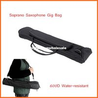 Wholesale High Quality Soprano Saxophone Sax Gig Bag Case Oxford Cloth with Adjustable Single Shoulder Strap Saxophone Accessories