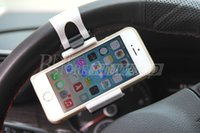 Cheap Free DHL Universal Car Steering Wheel Cr Best Cellphone Holder Clip Car
