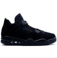 Wholesale Black Cats Cheap s Men basketball shoes outdoor sports shoes high quality atheletic Retro sneaker black red white