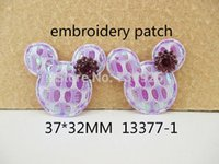 Wholesale 5Y13377 freeshipping mm embroidery patch rhinestone wedding design decoration diy patch for women s dress lace min order