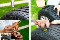 tire repair tools - 200pcs a bag Emergency car fast tire repair tools vacuum tire tire repair tools motorcycle tire repair kit in big bold Universal