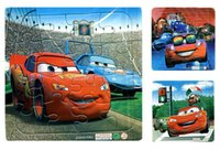 animated cartoon cars - Animated children s cartoon car puzzle Tri quality paper plane jigsaw puzzle one