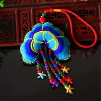 acting sides - Double sided embroidery seven bead string bag accessories Fine motor hang act the role of gifts