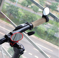 Wholesale Bicycle real view mirror cycling back mirror high quality handlebar back mirror red and black color