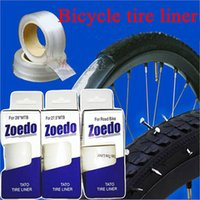 Wholesale Zoedo Transparent bicycle tire liner puncture proof belt tyre protection pad for mtb mountain road hybrid bike quot quot