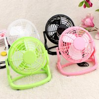 Wholesale 4in Portable Flexible Cooling Mini USB Desk Fan for Computer Notebook PC Cooler