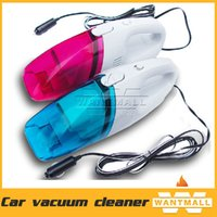 Wholesale New suction W Car Automobile Mini Portable Handheld High Power Car Vacuum Cleaner DC12V wet and dry