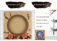antique chinese embroidery - National Chinese Style embroidery Coasters Handmade coasters embroidered coasters unique coasters cup pad