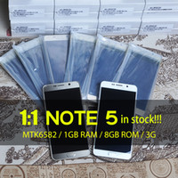 Wholesale 1 Note Note5 SM N9200 MTK6572 Dual Core Quad Core Android Lollipop G WCDMA Smart Phone Show GB RAM GB ROM Mobile Cell Phone