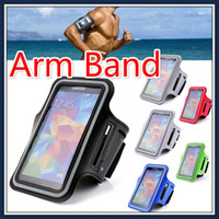 Wholesale Armband Case Running Gym Sports Arm band Phone Bag Holder Pounch cover case For iPhone s PLUS Samsung S6 edge S5 Note