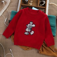 baby thermal shirt - Jade autumn baby sweater baby basic sweater long sleeve sweater thermal sweater shirt solid color