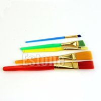 artist posters - 5PCS Nylon Paint Brushes Set for Painting Watercolors Poster Art Artist Supplies
