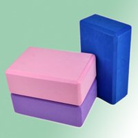 Wholesale 1 Foaming Foam Yoga Block Brick Home Exercise Practice Fitness Gym Sport Tool Newest Brand New