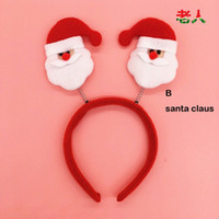 Wholesale Christmas Headband Decoration Party Headband Hair Band Xmas Gift JJAL X12
