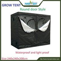 Wholesale Indoor garden grow tent Plant growth tent grow tent PEVA green tent fabric high quality iron pipe size X240X200cm