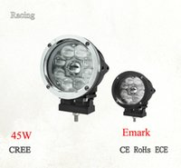 Wholesale 5 inch W emark led cree driving light led round work light for offroad jeep SUV etc