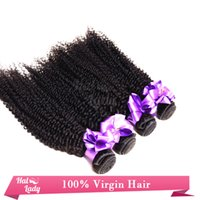 Wholesale Cheap 5pcs Curly Hair - Free Shipping Virgin Brazilian Curly Hair Weave 5pcs lot 5A Cheap Human Hair Brazilian Kinky Curly Hair Double Weft Unprocessed Remy Hair