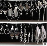 Asian & East Indian factory direct wholesale - Factory direct diamond tassel Earring long earrings mixted style earrings long tassel earrings fashonable earring