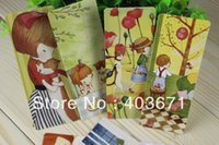 Wholesale New Cute girls cat style Card Bookmark set note memo Card