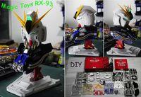 gundam - New Magic Toys Scale RX Nu am Head Plastic Model Kit Children s DIY Birthday Gift Collection