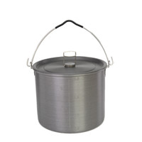 Wholesale Hot Outdoor Cooking Pot Portable Camping Pot Picnic Hiking Cookware Soup Bowl Pot Pan with Storage Bag