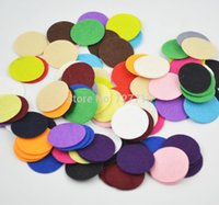 Wholesale cm Felt Circle Pads Felt Applique patch