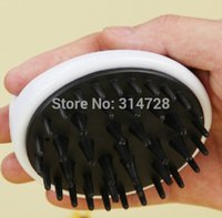 bamboo dog brush - bamboo charcoal dog bath palm brush massage pet body dog grooming products
