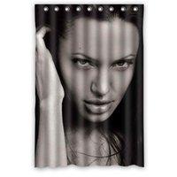 angelina jolie style - new style DIY Angelina Jolie Shower Curtain x72 Amazing Quality on sale