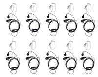 acoustic packs - Pack Air Acoustic Earpiece Headset for Kenwood TH F6 BAOFENG Two Way Radio UV R UV RA Plus BF S UV82 GT Walkie talkie