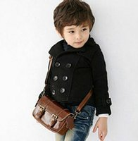 Cheap spring and autumn double breasted boys clothing black coat boy small suit jacket coat baby boy jacket autumn free shipping in stock