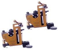 mio - 2pcs Pro Iron Tattoo Machine guns Wrap Coils Liner Shader supply MIO for beginner tattoo kits supplies
