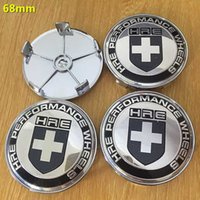 acura badges - Exterior Accessories Emblems x mm HRE car emblem Wheel Center Hub Caps Dust proof Badge logo covers car styling