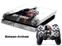 for PS4 PS4/0116  Batman arkham1 decals PS4 SKINS stickers paster tags for ps4 console controller