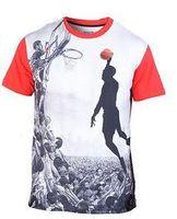 basketball shirts for boys - Mens Printed D Print Emoji Shirt Men Tops Tees Basketball short sleeve Blouses For Boys Hba T Shirts Big Size Male Camisetas s xl free ship