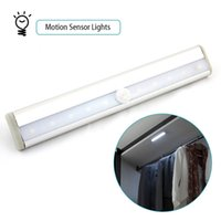 12v battery light closet - LED IR Sensor light Wireless PIR Auto Motion Sensor Light Intelligent Infrared Induction Lamp Night Lights for Cabinet Hotel Closet Y4266D