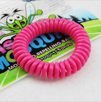 Wholesale good quality Mosquito Repellent Band Bracelets Anti Plastic spring Mosquito Pure Natural Baby Wristband Mosquito hand ring Y25344