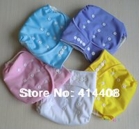 Wholesale GIRL COLOR BABY NAPPIES CLOTH DIAPERS PUL COVER without LINER INSERTS ONE SIZE FIT MOST WASHABLE ADJUSTABLE MULTICOLOR