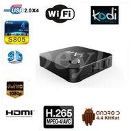 Wholesale MXV Amlogic S805 MX5 Android TV BOX Kodi Quad Core G G Cortex GHZ Bluetooth H Smart Media Player