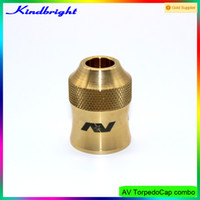 av factory - Top selling AV Torpedo Cap combo atomizer with factory price optic mod clone for sale