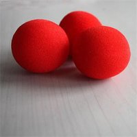 Wholesale Brand Street Classical Comedy Trick Soft Red Sponge Ball X New Fashion Close Up Magic Sponge Ball