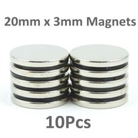 Wholesale In Stock New LARGE and STRONG Neodymium disc magnets mm dia x mm N35 craft fridge diy