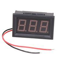 Wholesale Red LED Panel Meter Mini Display Digital Voltmeter AC V to V