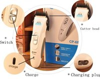 Wholesale Profational CP6800 Codos Pet Electric Shaver Trimmerr Grooming Haircut Machine Silver Rechargeable Dog Grooming Clipper
