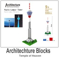architecture building materials - LOZ Architecture Building Block Toy Kuala Lumpur Tower ABS Material Blocks each Set with Retail Package
