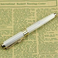 Wholesale Jinhao Silver Fountain Pen Checked Dragon KGP JINHAO New order lt no track