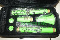 Wholesale Special offers that sell green clarinet Clarinets woodwind musical instrument