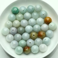 Wholesale Natural jade beads merchant MM DIY sub bead jade beads accessories materials