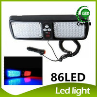 red white led strobe lights - Super Bright LED Light LED Strobe Light LED Car Strobe Light Truck Visor Car Strobe Flash Light led Emergency Light Panel Warning Lighting